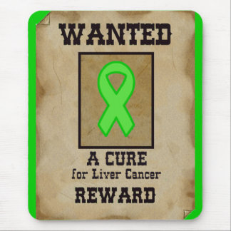 Wanted: A Cure for Liver Cancer Mouse Pad