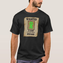 Wanted: A Cure for Liver Cancer T-Shirt