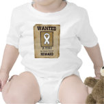 Wanted: A Cure for Lung Cancer Tee Shirts