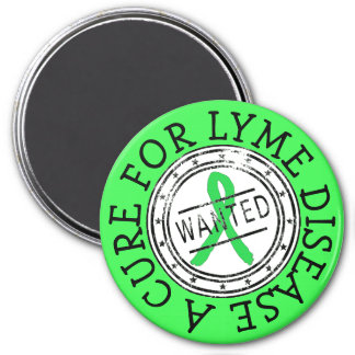 Wanted: A Cure for Lyme Disease Magnet