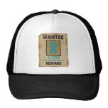 Wanted: A Cure for Ovarian Cancer Mesh Hats