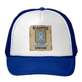 Wanted: A Cure for Prostate Cancer Trucker Hat