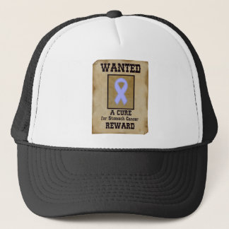 Wanted: A Cure for Stomach Cancer Trucker Hat