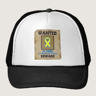 Wanted: A Cure for Testicular Cancer Trucker Hat