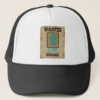 Wanted: A Cure for Uterine Cancer Trucker Hat
