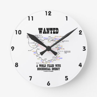 Wanted A World Filled With Biochemical Energy Wallclocks