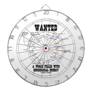 Wanted A World Filled With Biochemical Energy Dartboards