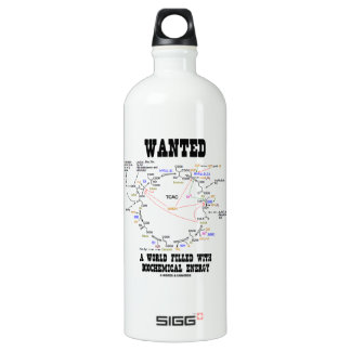 Wanted A World Filled With Biochemical Energy SIGG Traveler 1.0L Water Bottle