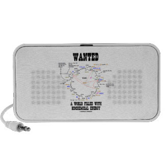 Wanted A World Filled With Biochemical Energy iPod Speaker