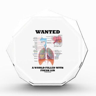 Wanted A World Filled With Fresh Air (Respiratory) Award