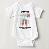 Wanted A World Filled With Fresh Air (Respiratory) Tshirts