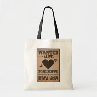 WANTED ALIVE: SOULMATE bags