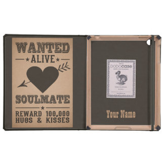 WANTED ALIVE: SOULMATE cases iPad Covers