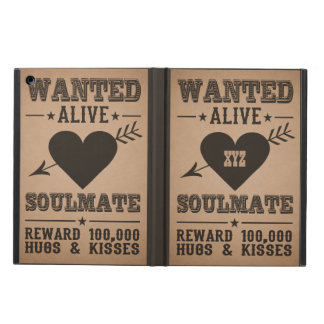 WANTED ALIVE: SOULMATE cases iPad Air Cover
