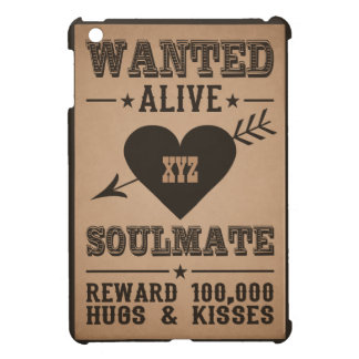 WANTED ALIVE: SOULMATE cases iPad Mini Case
