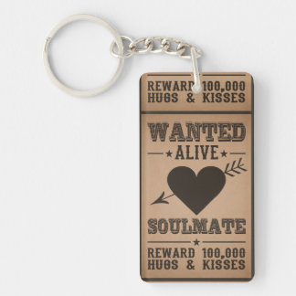 WANTED ALIVE: SOULMATE key chain