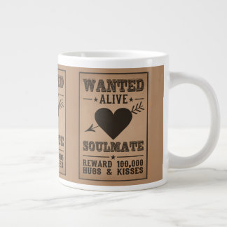 WANTED ALIVE: SOULMATE mugs