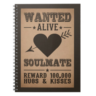 WANTED ALIVE: SOULMATE notebook