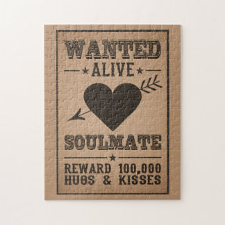 WANTED ALIVE: SOULMATE puzzle