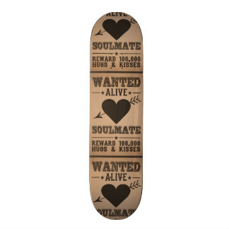 WANTED ALIVE: SOULMATE skateboards