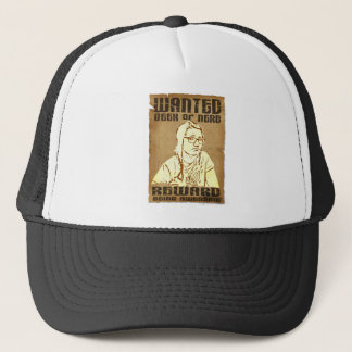 WANTED BACKFLIP TRUCKER HAT