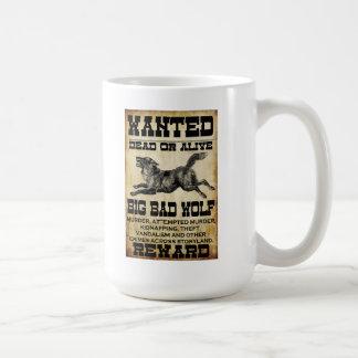Wanted: Big Bad Wolf Mug
