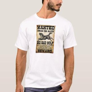 Wanted: Big Bad Wolf T-Shirt
