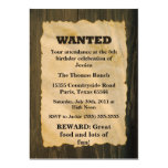 WANTED Birthday Party Invitations