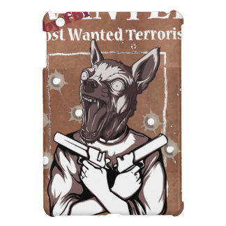 Wanted By FBI Animal Crazy Dog iPad Mini Cover