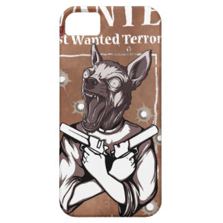 Wanted By FBI Animal Crazy Dog iPhone SE/5/5s Case