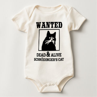 Wanted Cat Baby Bodysuit