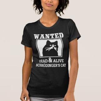 Wanted Cat Tee Shirt