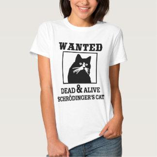 Wanted Cat Tshirt