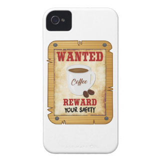 Wanted Coffee iPhone 4 Case