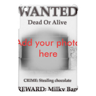 Wanted criminal jail cell prison prisoner photo case for the iPad mini