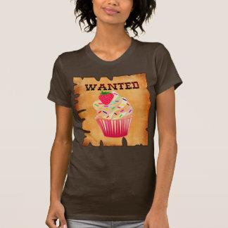 wanted,CUPCAKES T-Shirt