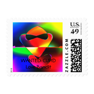 WANTED: CUPID Love Bandit Stamps