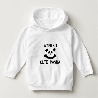 WANTED Cute Panda Hoodie
