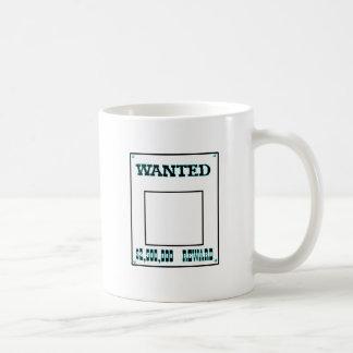 Wanted Cyan The MUSEUM Zazzle Gifts Coffee Mug