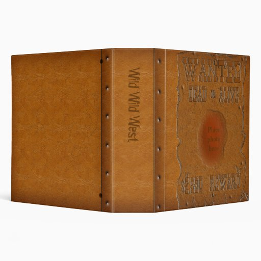 Wanted Dead or Alive Binder