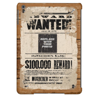 Wanted Dead Or Alive iPad Air Cases