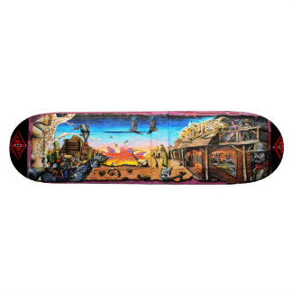 Wanted: Dead or Alive - Street Art Sk8 Deck