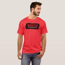 WANTED design t shirt