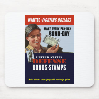 Wanted -- Fighting Dollars Mouse Pad