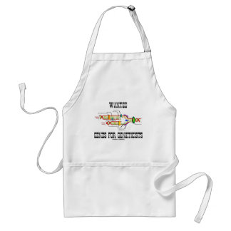 Wanted Genes For Geneticists (DNA Replication) Adult Apron