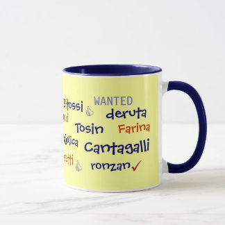 WANTED - Italian Potters Mug