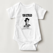 Wanted Jesse James Baby Bodysuit