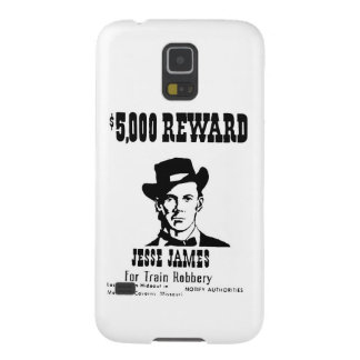 Wanted Jesse James Case For Galaxy S5