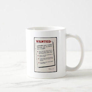 Wanted, Letters From Former Employees Now On Activ Mugs