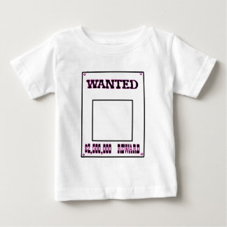 Wanted Magenta The MUSEUM Zazzle Gifts Baby T-Shirt